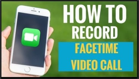 screen record facetimecalls, how to record,save ,delete